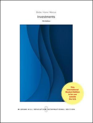 9781260083392 - Investments Global edition