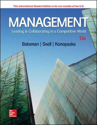 9781260092288 - Management: Leading N Collaborating In Competitive Wrld