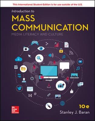 9781260092363 - Intro To Mass Comm: Media Literacy & Culture