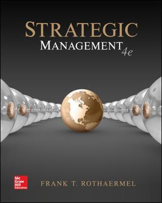 9781260092370 - Strategic Management: Concepts