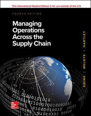 9781260547634 - Managing Operations Across the Supply Chain
