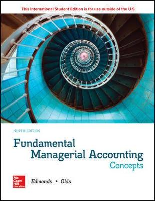 9781260565485 - Ise Fundamental Managerial Accounting Concepts