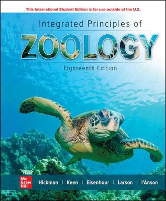 9781260565973 - Ise Integrated Principles Of Zoology