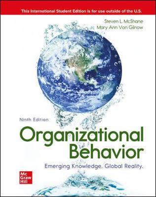9781260570656 - ISE Organizational Behavior