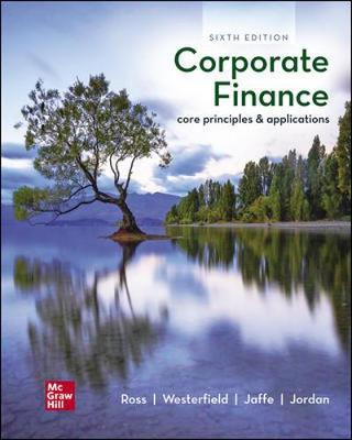 9781260571127 - Ise Corporate Finance: Core Principles And Applications