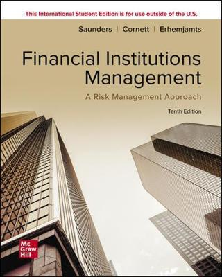 9781260571479 - Financial Institutions Management, A Risk Management Approach