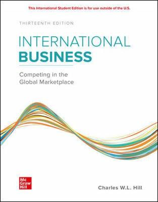 9781260575866 - Ise International Business: Competing In The Global Marketplace