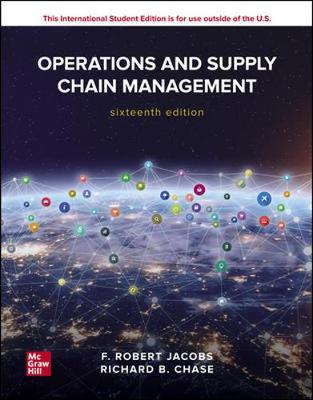 9781260575941 - Ise Operations And Supply Chain Management