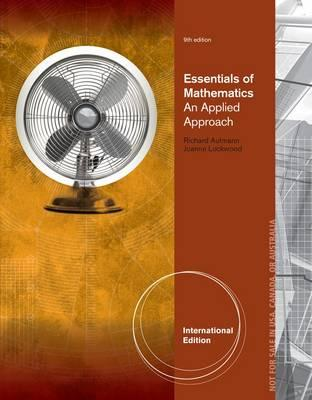 9781285057101 - Ise For Essentials Of Mathematics: An Applied Approach