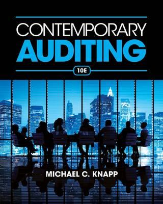 9781285066608 - Contemporary Auditing