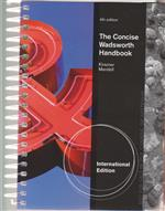 9781285072531 The Concise Wadsworth Handbook
