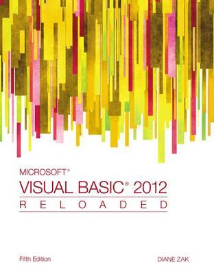9781285084169 - Ms Visual Basic 2012 Reloaded