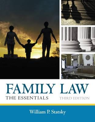 9781285420592 - Family Law: The Essentials