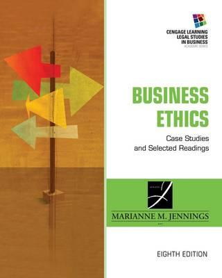 9781285428710 - Business Ethics: Case Studies and Selected Readings