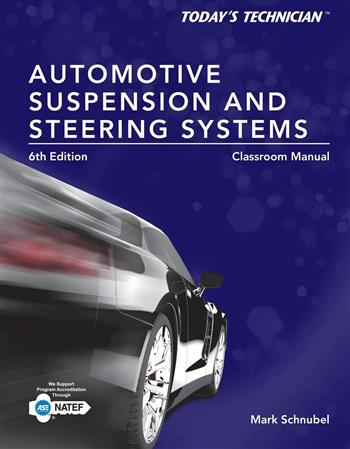 9781285438108 - Today's Technician Automotive Suspension & Steering Systems