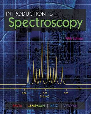 9781285460123 - Introduction to Spectroscopy