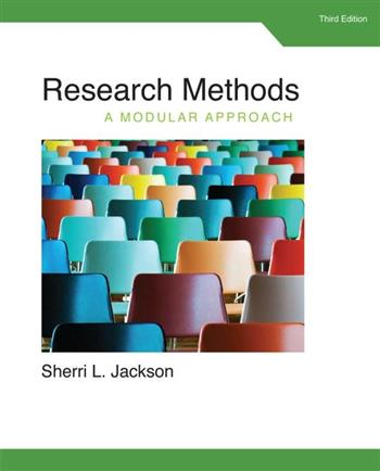 9781285750491 - Research Methods: A Modular Approach