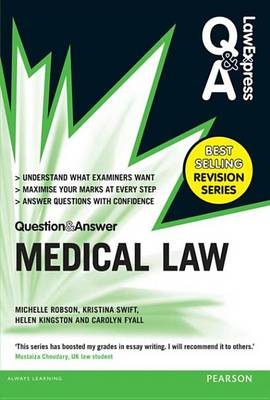 9781292002927 - Law Express Question and Answer: Medical Law