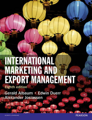 9781292016924 - International Marketing and Export Management