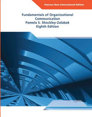 9781292025063 - Fundamentals of Organizational Communication: Pearson New International Edition