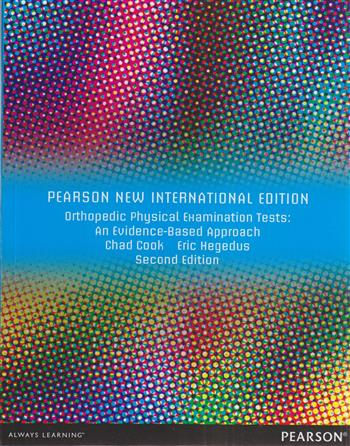 9781292027968 - Orthopedic Physical Examination Tests: PNIE :An Evidence-Based Approach