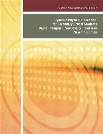 9781292033815 - Dynamic Physical Education for Secondary School Students: Pearson New International Edition