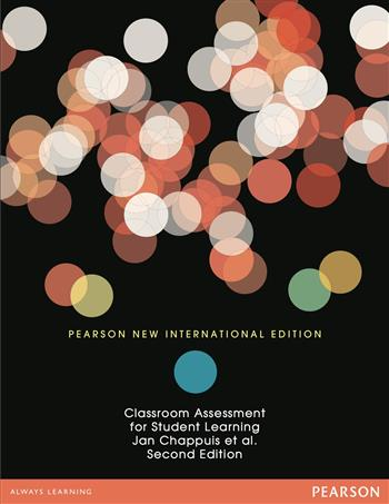 9781292034430 - Classroom Assessment for Student Learning: Pearson New International Edition