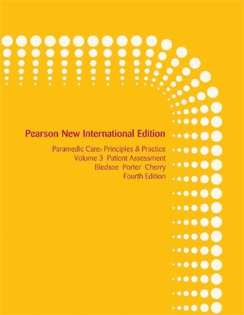 9781292035000 - Paramedic Care: Pearson New International Edition