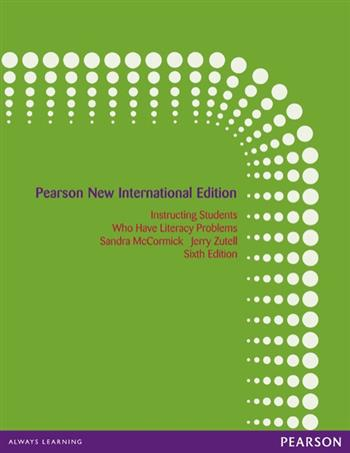 9781292035185 - Instructing Students Who Have Literacy Problems: Pearson New International Edition