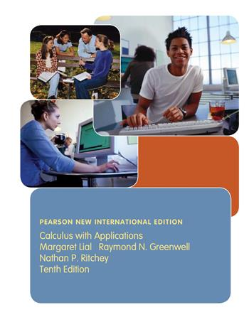 9781292035314 - Calculus with Applications: Pearson New International Edition