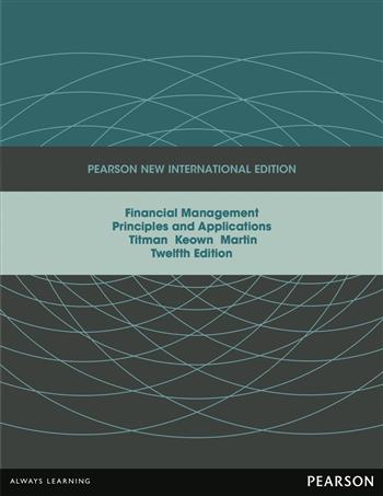 9781292036243 - Financial Management: Pearson New International Edition