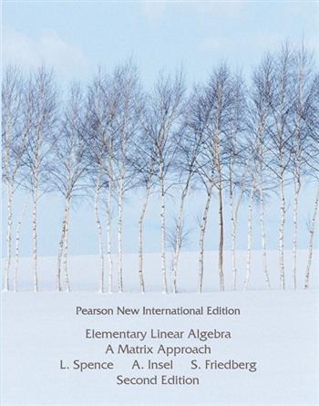 9781292037660 - Elementary Linear Algebra: Pearson New International Edition