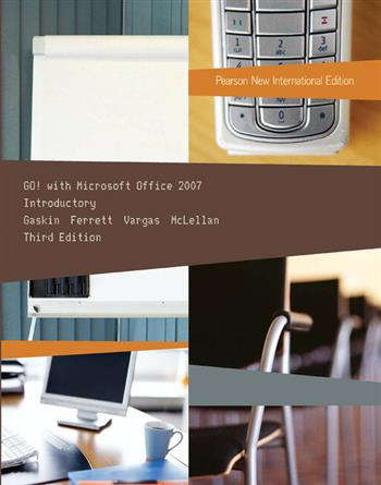 9781292038292 - GO! with Microsoft Office 2007 Introductory: Pearson New International Edition