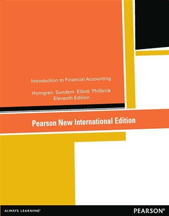 9781292040578 - Introduction to Financial Accounting: Pearson New International Edition