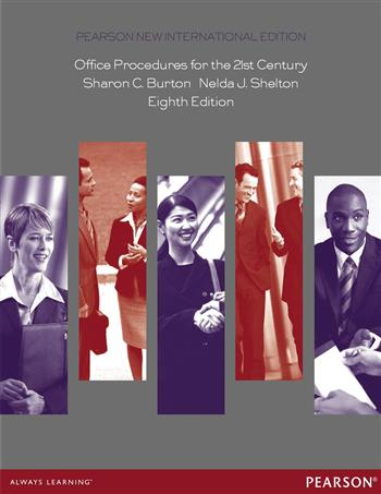 9781292052205 - Office Procedures for the 21st Century: Pearson New International Edition