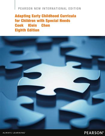 9781292052489 - Adapting Early Childhood Curricula for Children with Special Needs: Pearson New International Edition
