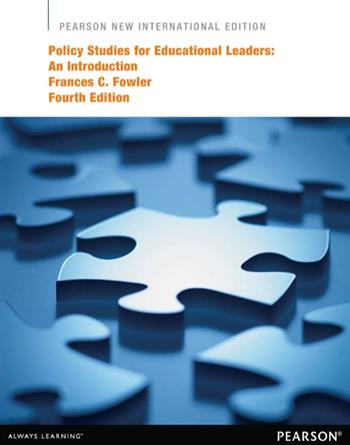 9781292052977 - Policy Studies for Educational Leaders: Pearson New International Edition