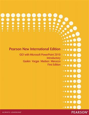 9781292053141 - GO! with Microsoft PowerPoint 2010 Introductory: Pearson New International Edition
