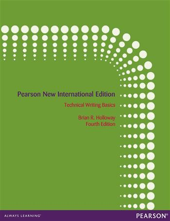 9781292053639 - Technical Writing Basics: Pearson New International Edition