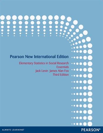 9781292054131 - Elementary Statistics in Social Research: Pearson New International Edition