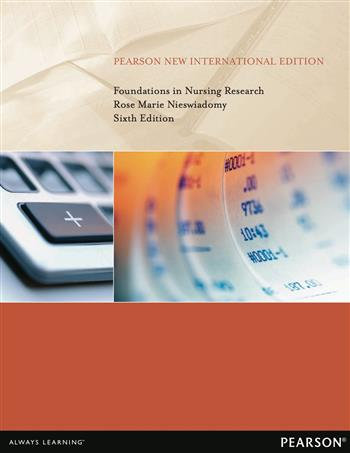 9781292054612 - Foundations in Nursing Research: Pearson New International Edition
