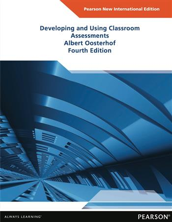 9781292054711 - Developing and Using Classroom Assessments: Pearson New International Edition
