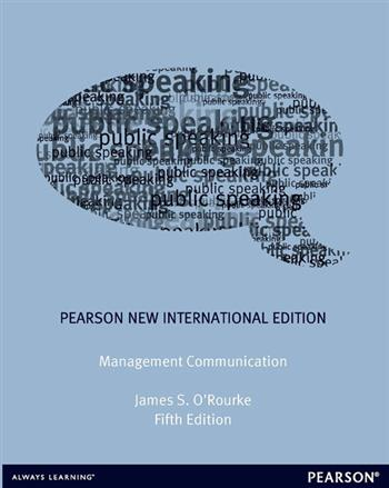9781292054735 - Management Communication: Pearson New International Edition