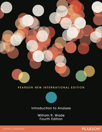 9781292055893 - Introduction to Analysis: Pearson New International Edition