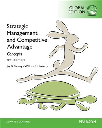 9781292058252 - Strategic Management and Competitive Advantage: Concepts, Global Edition