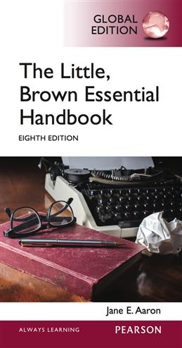 9781292059945 - Little, Brown Essential Handbook, Global Edition