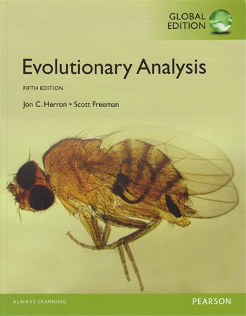 9781292061276 - Evolutionary Analysis, Global Edition