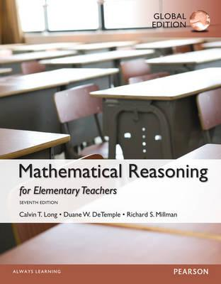 9781292062365 - Mathematical Reasoning for Elementary School Teachers, Global Edition