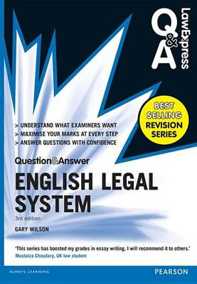 9781292067476 - Law Express Question and Answer: English Legal System(Q&A revision guide)