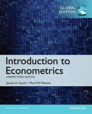 9781292071404 - Introduction to Econometrics